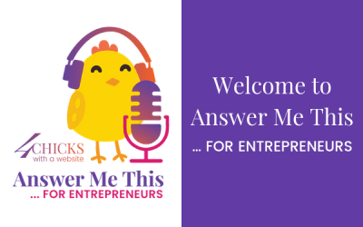 Welcome to the Answer Me This Podcast for Entrepreneurs