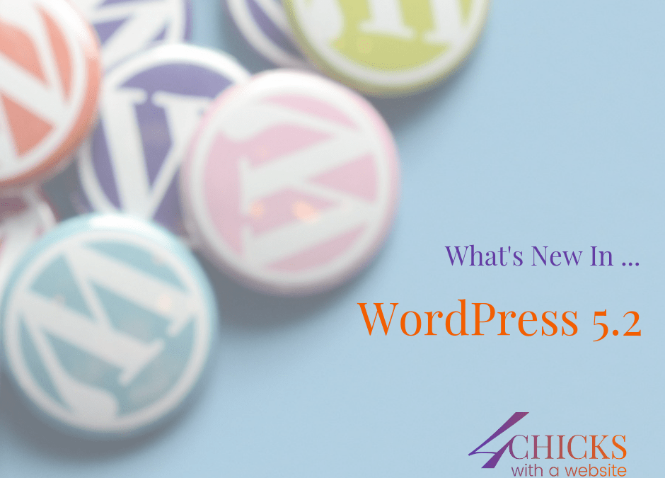 What's New in WordPress 5.2